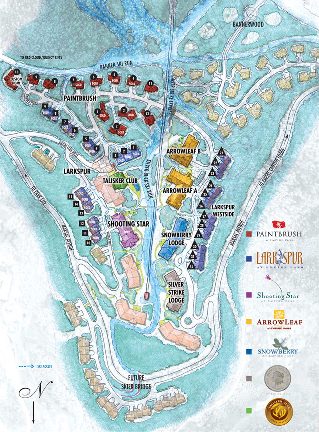 Deer Valley Map